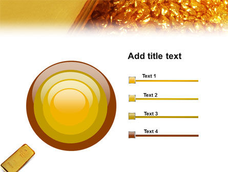 Gold PowerPoint Template Slide 9