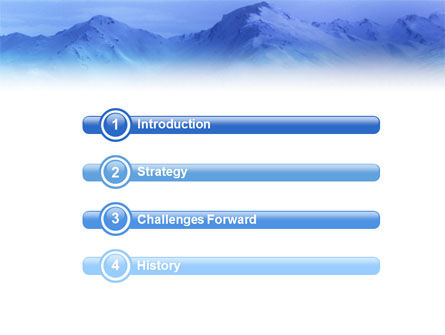 Skiing PowerPoint Template Slide 3