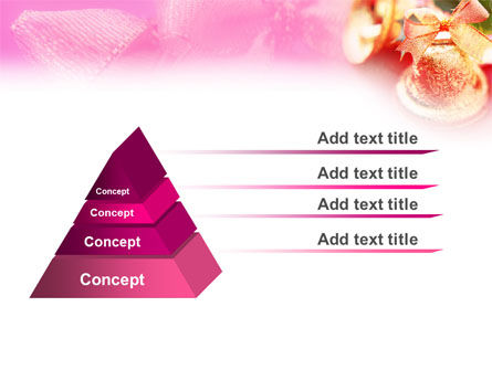 Christmas Bells On A Pink Background PowerPoint Template Slide 10