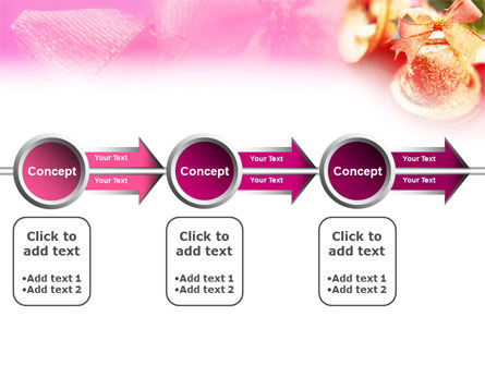 Christmas Bells On A Pink Background PowerPoint Template Slide 11