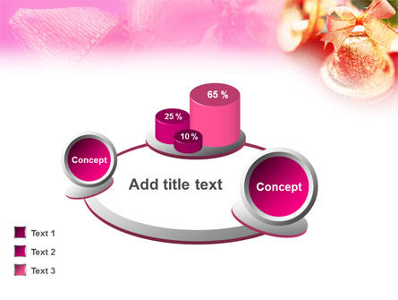 Christmas Bells On A Pink Background PowerPoint Template Slide 13