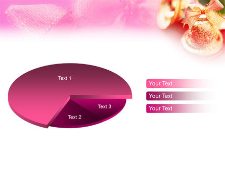 Christmas Bells On A Pink Background PowerPoint Template Slide 14