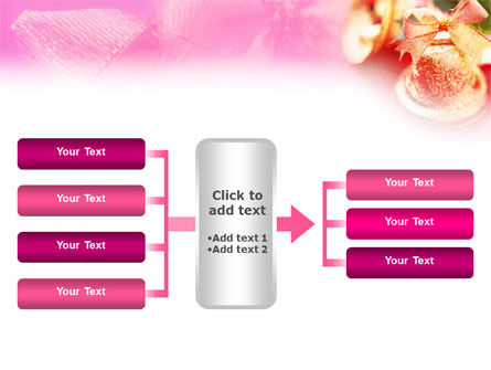 Christmas Bells On A Pink Background PowerPoint Template Slide 16