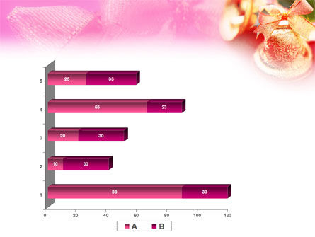 Christmas Bells On A Pink Background PowerPoint Template Slide 17