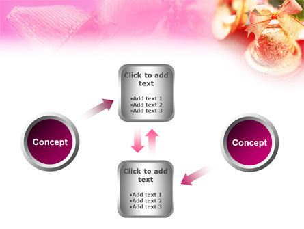 Christmas Bells On A Pink Background PowerPoint Template Slide 19