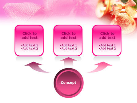 Christmas Bells On A Pink Background PowerPoint Template Slide 4
