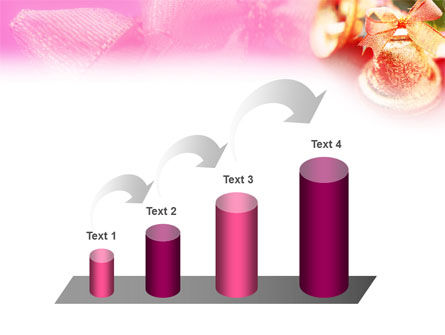 Christmas Bells On A Pink Background PowerPoint Template Slide 7