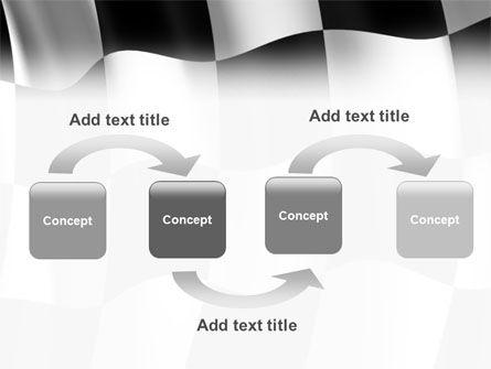 Signal Flag PowerPoint Template, Slide 4, 01682, 3D — PoweredTemplate.com