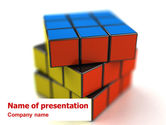 Rubik's Cube PowerPoint Template#1
