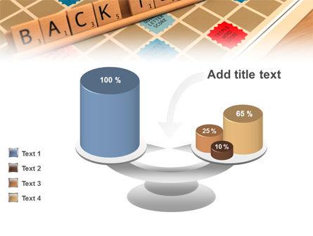 Scrabble PowerPoint Template Slide 10