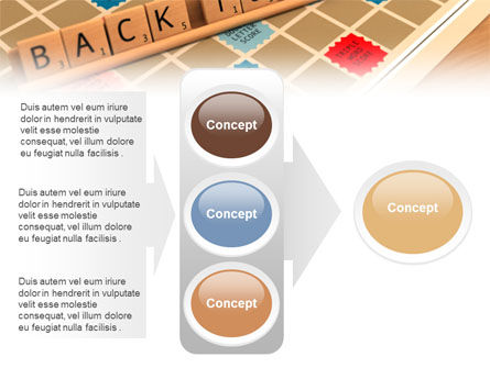 Scrabble PowerPoint Template Slide 11