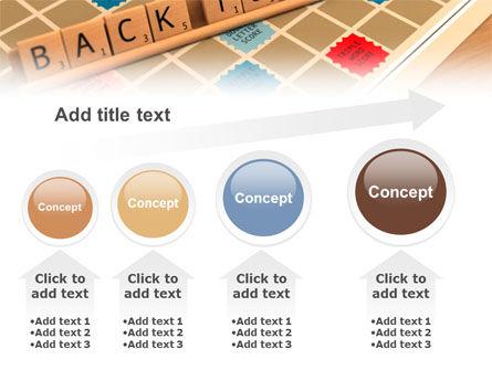 Scrabble PowerPoint Template Slide 13