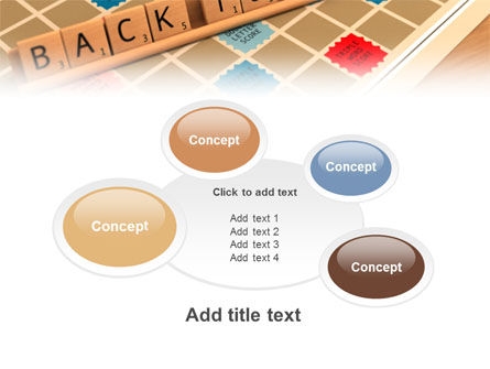 Scrabble PowerPoint Template Slide 16