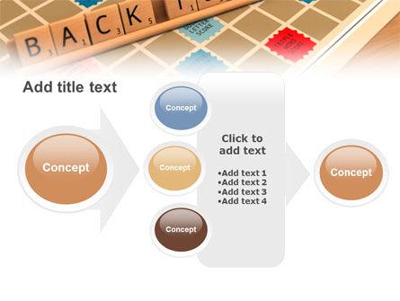 Scrabble PowerPoint Template Slide 17
