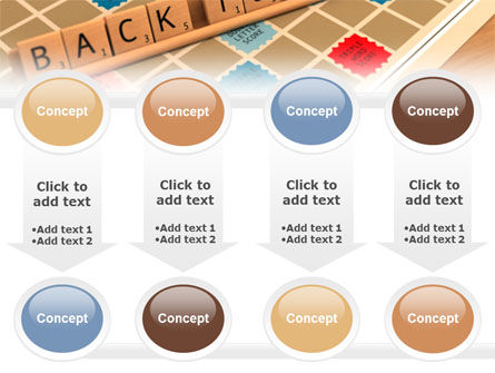Scrabble PowerPoint Template Slide 18