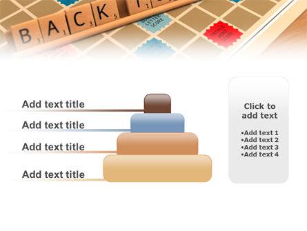 Scrabble PowerPoint Template Slide 8