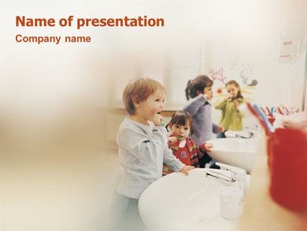 Education & Training: Oral Hygiene PowerPoint Template #01687
