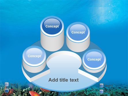Coral Reef PowerPoint Template Slide 12