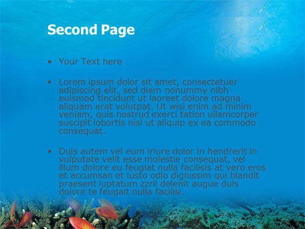 Coral Reef PowerPoint Template Slide 2