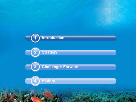 Coral Reef PowerPoint Template Slide 3