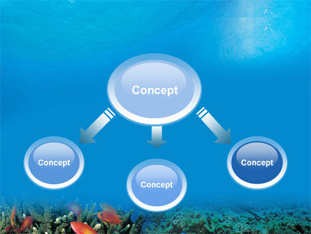 Coral Reef PowerPoint Template Slide 4