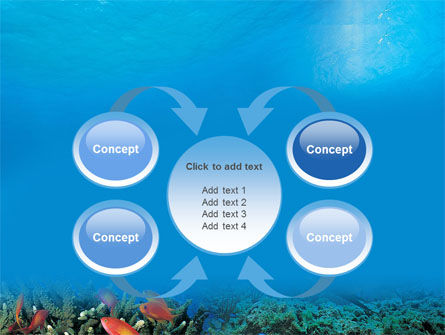 Coral Reef PowerPoint Template Slide 6