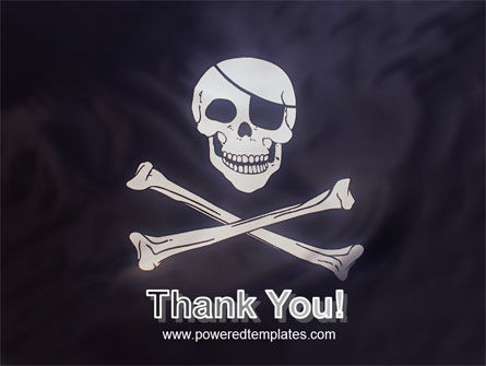 Pirates Flag PowerPoint Template Slide 20