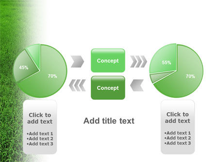 Farmer On The Green Field PowerPoint Template Slide 11