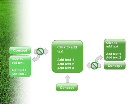 Farmer On The Green Field PowerPoint Template Slide 13