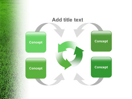 Farmer On The Green Field PowerPoint Template Slide 6
