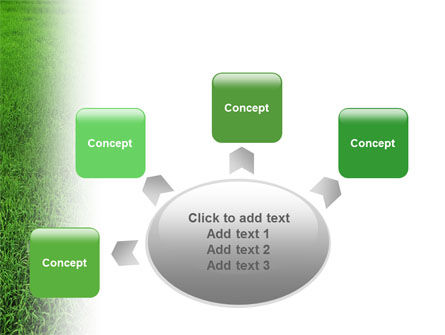 Farmer On The Green Field PowerPoint Template Slide 7