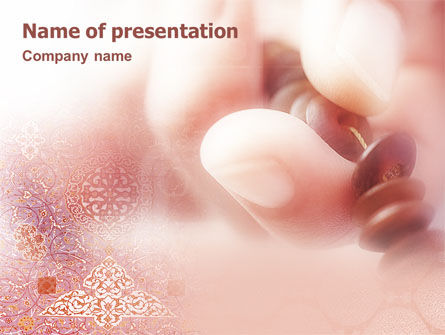 Religious/Spiritual: Moslem PowerPoint Template #01701