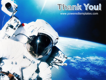 Astronaut PowerPoint Template Slide 20