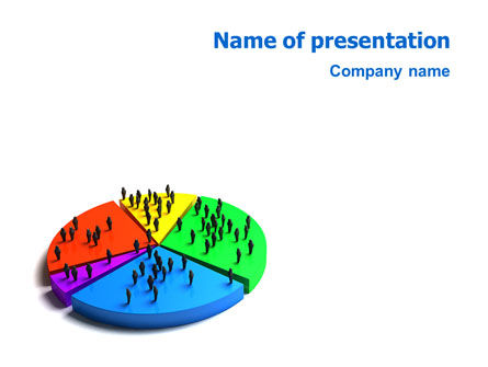 3D: Chart PowerPoint Template #01703