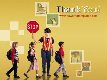 Social Education PowerPoint Template Slide 20