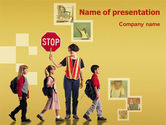 Education & Training: Social Education PowerPoint Template #01704