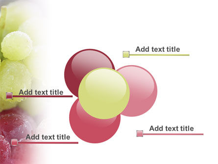 White And Red Grapes PowerPoint Template Slide 10