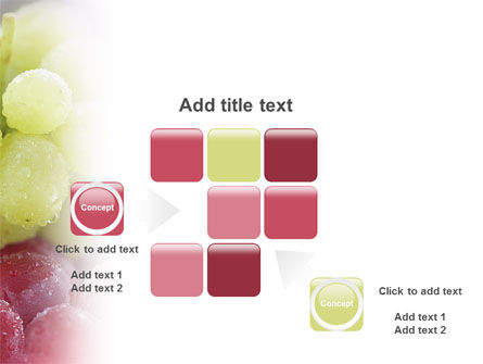 White And Red Grapes PowerPoint Template Slide 16
