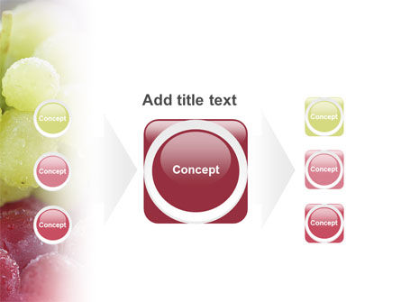 White And Red Grapes PowerPoint Template Slide 17