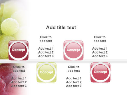 White And Red Grapes PowerPoint Template Slide 19