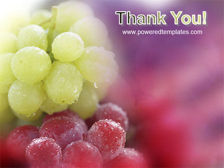 White And Red Grapes PowerPoint Template Slide 20