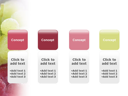 White And Red Grapes PowerPoint Template Slide 5