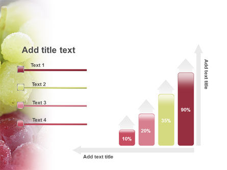 White And Red Grapes PowerPoint Template Slide 8