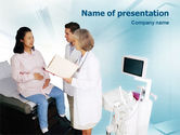 Medical: Obstetric PowerPoint Template #01707