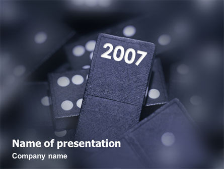 Holiday/Special Occasion: 2007 PowerPoint Template #01712