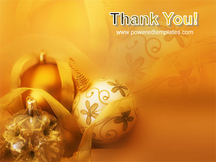 Christmas Tree Decorations PowerPoint Template Slide 20