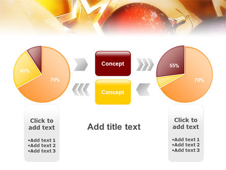 New Year Decorations PowerPoint Template Slide 11