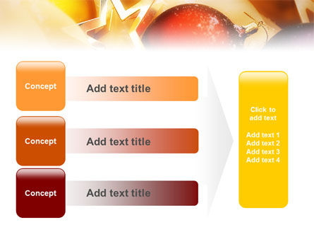 New Year Decorations PowerPoint Template Slide 12