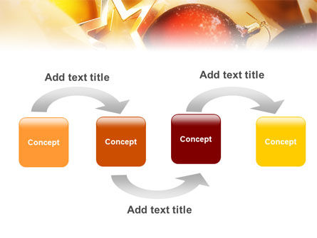 New Year Decorations PowerPoint Template Slide 4
