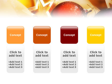 New Year Decorations PowerPoint Template Slide 5